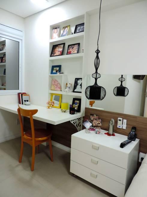 Apartamento LP: Quartos  por Escritório 238 Arquitetura