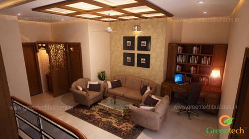 Best Interior Designers in Kochi: asian Living room by Greentech Interiors