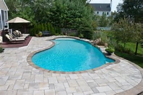 Poolside Paving Project:   by Paving Cape Town