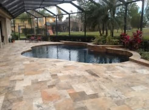 Patio Construction Project:   by Durban Paving