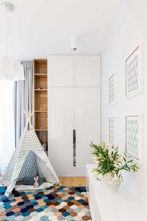 Nursery/kid's room by Ayuko Studio