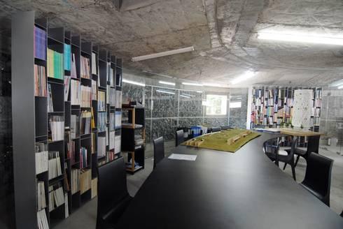 Rock Office - Văn phòng đá:  Tòa nhà văn phòng by a21studĩo