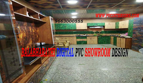 Digital Pvc Interior Cupboard Design Kitchen Cabinets 9663000555