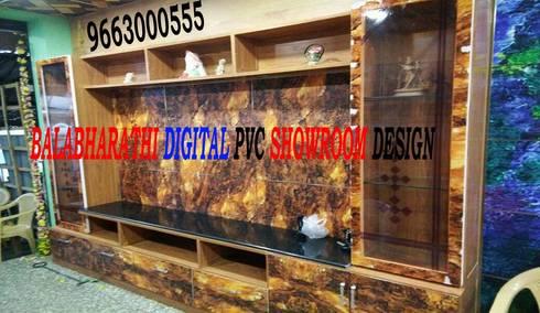 digital interior in karur digital wardrobe design 9663000555: modern Dressing room by balabharathi pvc interior design