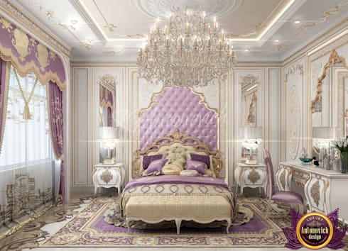 ​  Best Master Bedroom Design Ideas of Katrina Antonovich: classic Bedroom by Luxury Antonovich Design