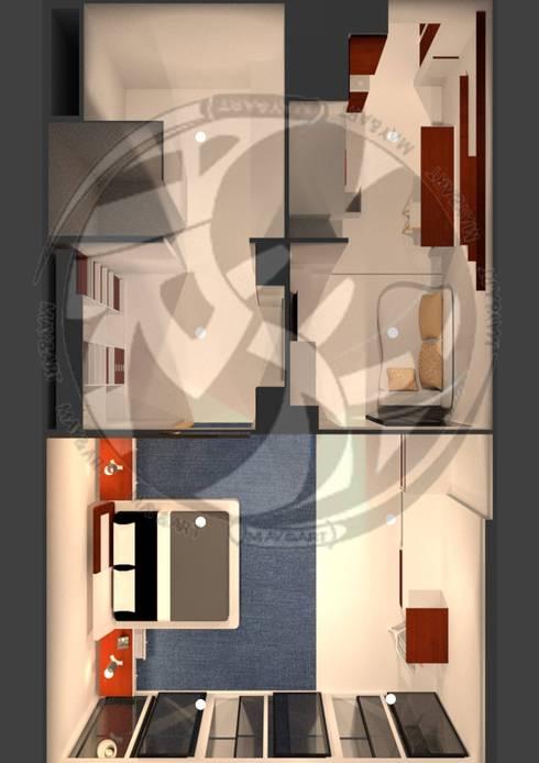 ออกแบบ 3d    style modern:  ห้องสันทนาการ by mayartstyle