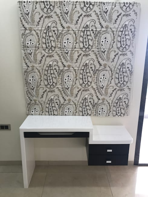 Luxury Interior Design  3 BHK Flat:  Nursery/kid's room by Nabh Design & Associates