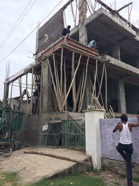 Commercial building at jhotwara road:  Commercial Spaces by Aditya shrivastava