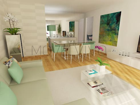 modern Living room by Movelvivo Interiores