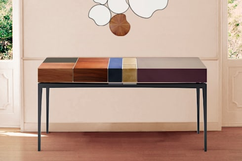 modern Living room by Malabar