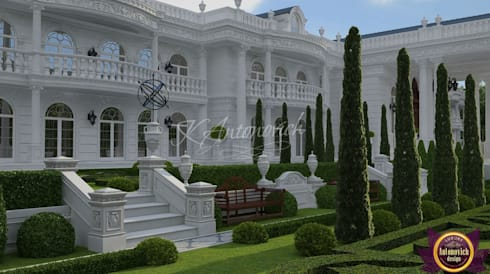   Landscape design by Katrina Antonovich: classic Houses by Luxury Antonovich Design