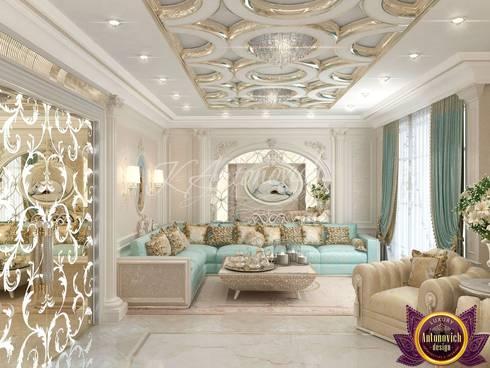 Design ideas majlis from Katrina Antonovich: classic Living room by Luxury Antonovich Design