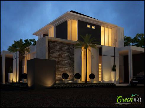 Private House Mr Ashiang:   by GreenArt Studio
