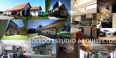 portada: Casas de estilo moderno por Toledo estudio Arquitectos