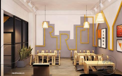 Thiết kế nội thất quán trà sữa:   by NEOhouse Architecture Construction Joint Stock Company