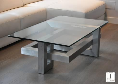 L nea alto dise o mesas de centro di gonzalo de salas for Mesas de vidrio de diseno