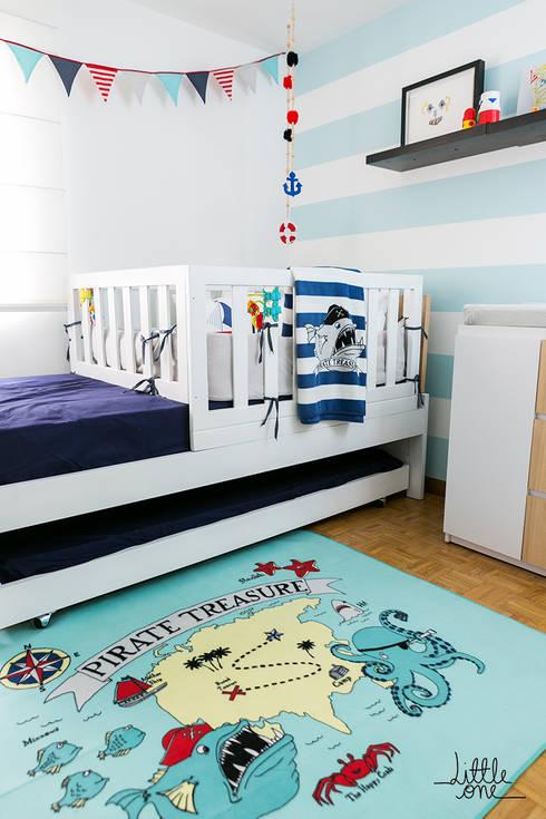 Cuarto de Francisco: Habitaciones infantiles de estilo  por Little One