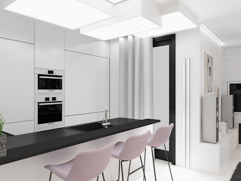 minimalistic Kitchen by Anastasia Yakovleva design studio