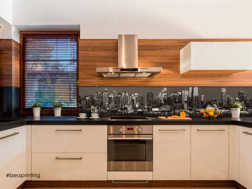 Pannelli schienali retro cucina personalizzati di lizea sas homify - Pannelli retro cucina ...