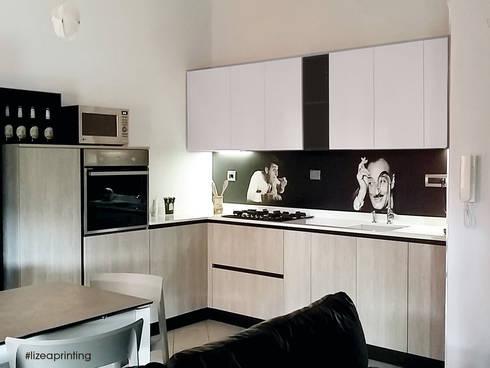 Pannelli schienali retro cucina personalizzati di lizea sas homify - La stampa cucina ...