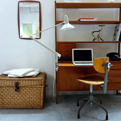 MÖBLER—Scandinavian Vintage. Authentic and Unique furniture and decor for those who want to be different.:  Office spaces & stores  by MÖBLER
