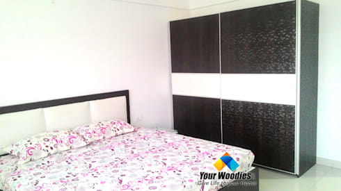 My Home Abhra: modern Bedroom by Your Woodies