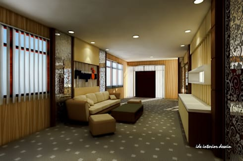 Aula PT Phapros Indonesia:  Ruang Kerja by Ide Interior