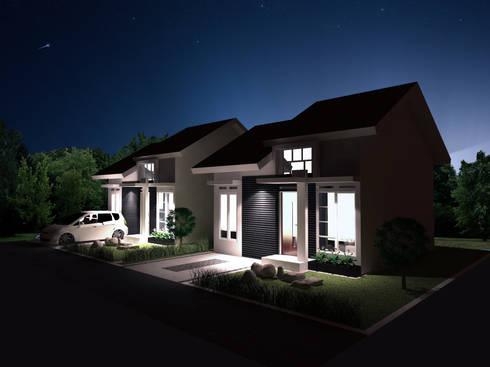 Artomoro Residences:  Rumah by Axis Citra Pama