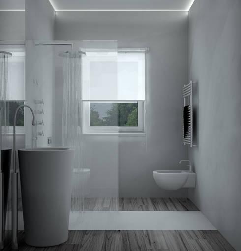 浴室 by Silvana Barbato, StudioAtelier