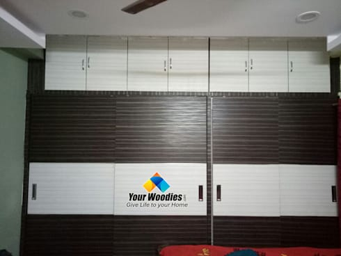 MB wardrobe: modern Bedroom by Your Woodies