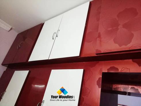 Kitchen Storage: modern Kitchen by Your Woodies