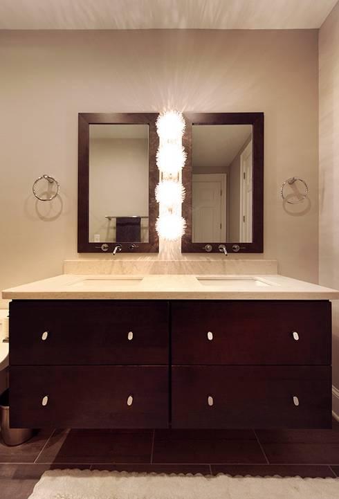 Contemporary Bathroom: modern Bathroom by Olamar Interiors, LLC