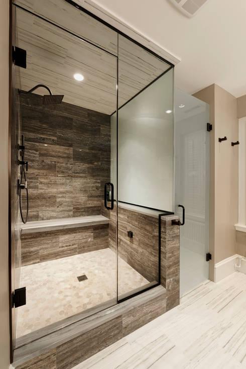 Luxury Kalorama Condo Renovation in Washington DC: minimalistic Bathroom by BOWA - Design Build Experts