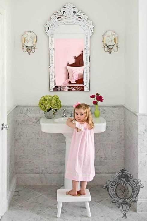 Bathroom: eclectic Bathroom by Kellie Burke Interiors