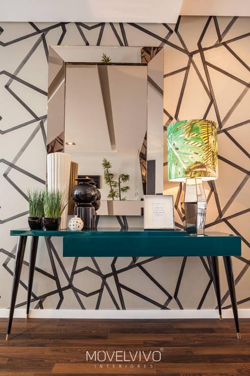 Walls & flooring by Movelvivo Interiores
