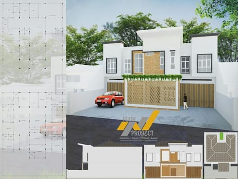 RUMAH PRIBADI & GUEST HOUSE:   by 4.Project
