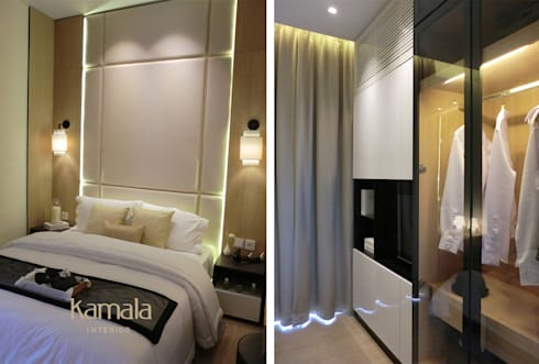 Show Unit @ Samarinda:  Kamar Tidur by Kamala Interior
