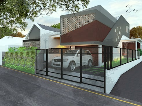 RUMAH STM 1:   by DMNT Architects