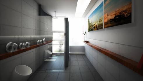 G House:  Kamar Mandi by Atelier Ara