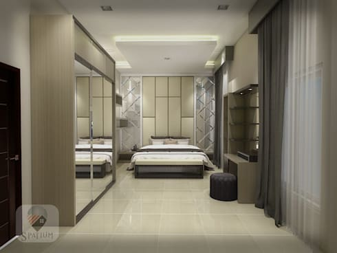 Interior :  Bedroom by SPATIUM