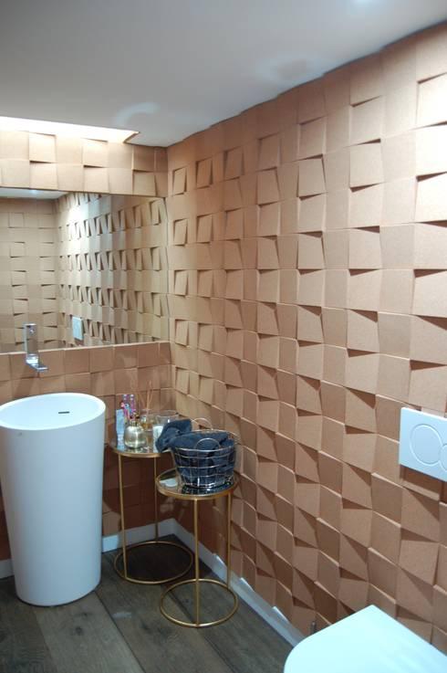 Moradia Unifamiliar: Casa de banho  por Archiultimate, architecture & interior design