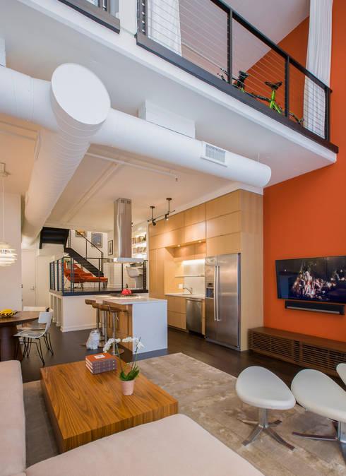 Logan Circle Duplex: modern Kitchen by FORMA Design Inc.
