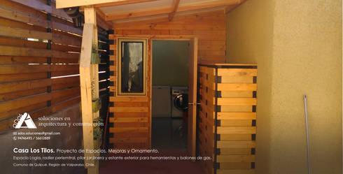 Casa Los Tilos. Proyecto de espacios, mejoras y ornamento.: Casas de estilo rústico por Ados