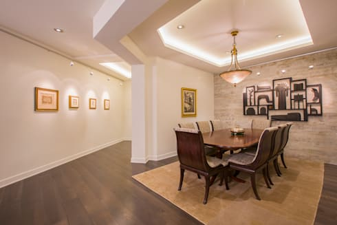 McLean Transitional : modern Dining room by FORMA Design Inc.