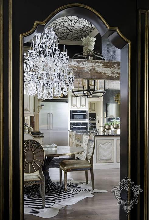 Kitchen: eclectic Kitchen by Kellie Burke Interiors