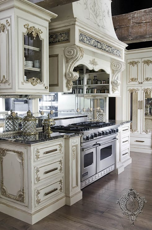 Kitchen Cabinetry: eclectic Kitchen by Kellie Burke Interiors