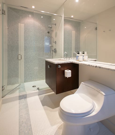 Spring Valley Residence: modern Bathroom by FORMA Design Inc.