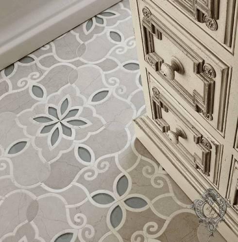 Phòng tắm by Kellie Burke Interiors