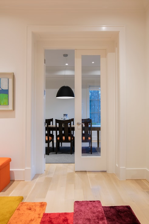 Bethesda Modern: modern Dining room by FORMA Design Inc.
