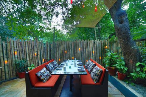 Ariba hauz khas: modern Garden by Total Interiors Solutions Pvt. ltd.